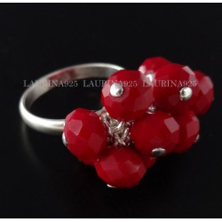 Anillo Swatch Piedras 7 mm Cristal Indian Siam