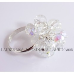 Anillo Swatch Piedras 7 mm OPAL WHITE