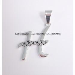 Dije Inicial cursiva ( H )