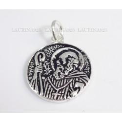 Medalla San benito Cara y Cruz Grande