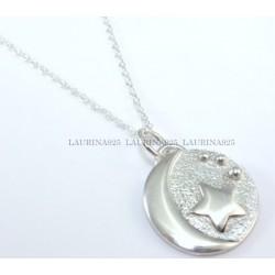 Medallita Luna y Estrella
