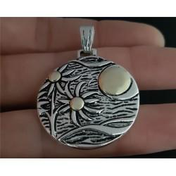Medalla Playera Plata y Oro